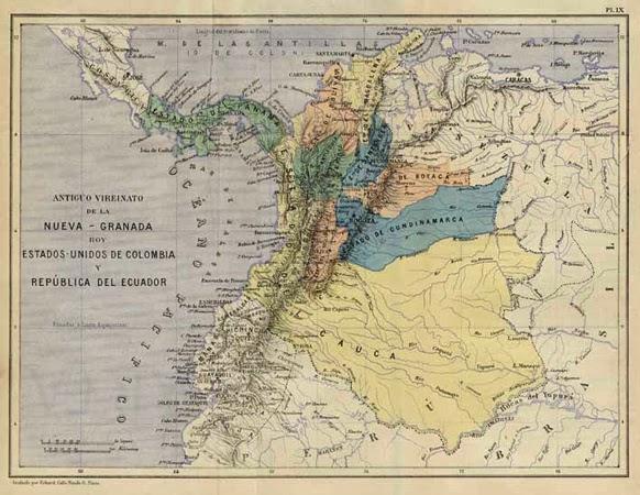 Mapa Politico Estados Unidos De Colombia.Estados Unidos De Colombia El Desastre Liberal